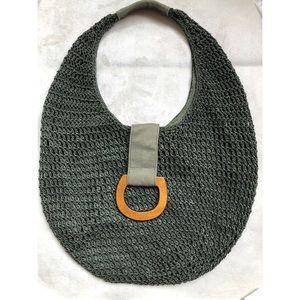 Handbags - Woven Fishing Net Shoulder Summer Handbag
